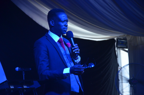 Pastor Dunamis Okunowo Ministering at Shouts of Grace Center, Ibadan, Nigeria